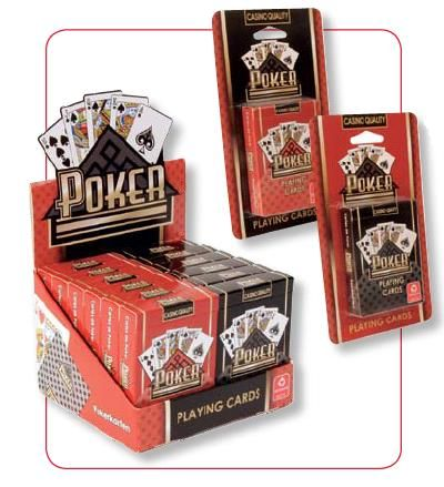 Poker karty Copag – černé