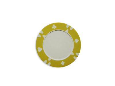 Tuin Flop Kusový žeton design žlutý - 1 ks