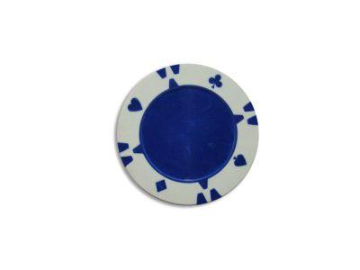 Tuin Flop Kusový žeton design bílý - 1 ks