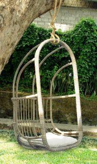 Závěsná ratanová houpačka HANGSTOEL