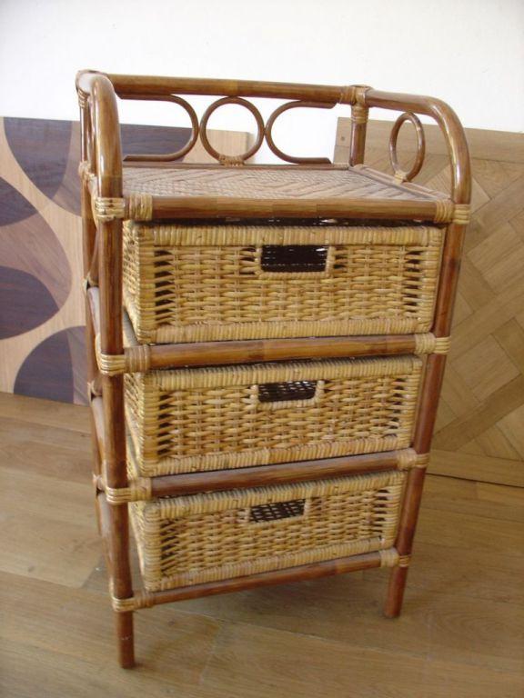 Kabinet prádelník se zásuvkami, tmavý med