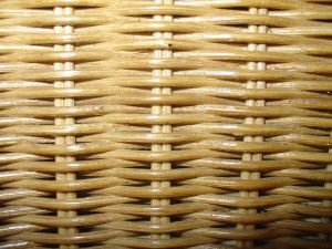 Botník ratanový FAMILY nízký světlý med