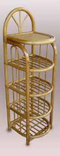 Botník ratanový malý - tmavý med