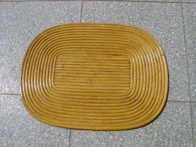 Podložky ovál točené med