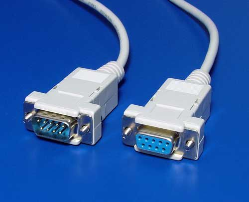 Kabel Value prodlužovací MD9-FD9 1.8m, pro sériový přenos dat