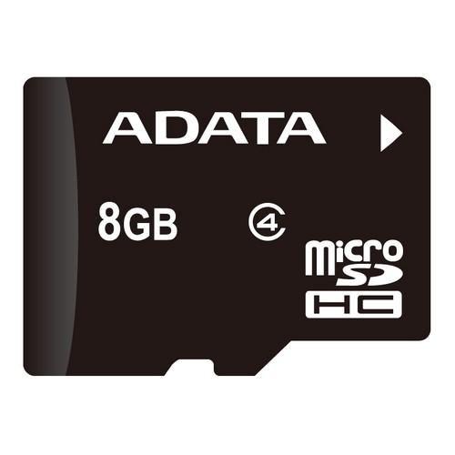 Paměťová karta Adata MicroSDHC 8GB Class4