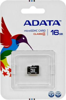 Paměťová karta Adata MicroSDHC 16GB Class4
