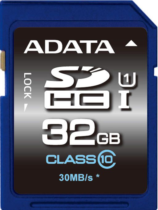 Paměťová karta Adata SDHC Premier 32GB Class10 UHS-1