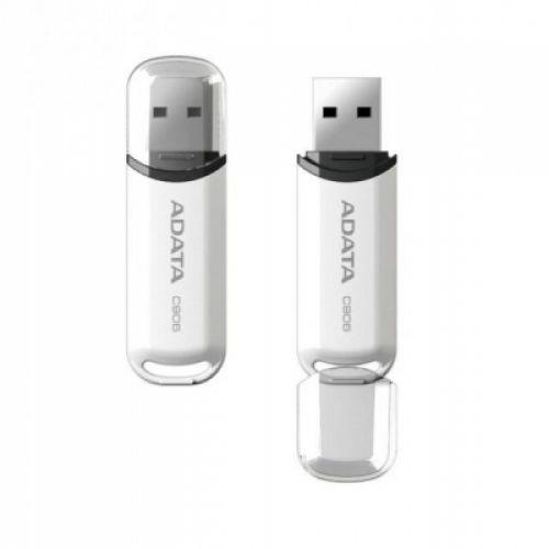 Flashdisk Adata USB 2.0 Classic C906 8GB bílý