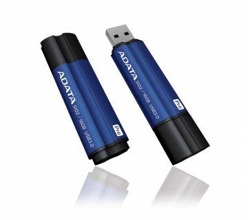 Adata USB 3.0 Superior S102 Pro Flashdisk, hliníkový 16GB modrý
