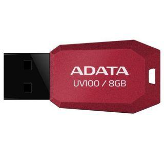 Flashdisk Adata USB 2.0 DashDrive UV100 8GB červený