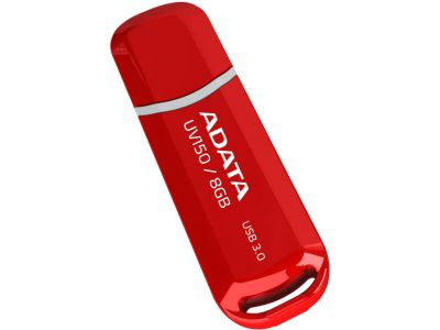 Adata USB 3.0 Dash Drive UV150 Flashdisk 16GB červený (R: 90MB/s, W: 20MB/s)
