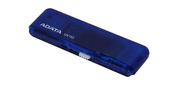 Flashdisk Adata USB 2.0 DashDrive UV110 16GB modrý