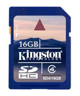 Paměťová karta Kingston SDHC Class 4 16GB