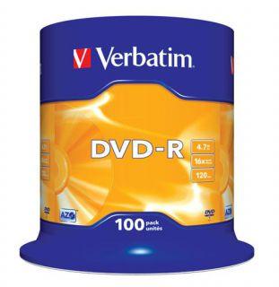 Médium Verbatim DVD-R 4,7GB 16x 100-cake