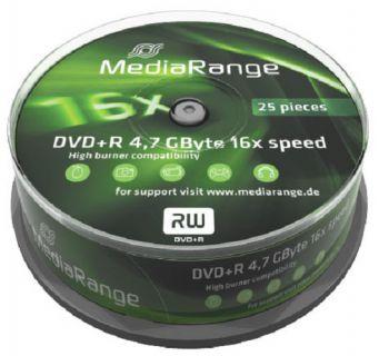 Médium MediaRange DVD+R 4,7 GB 16x 25-cake