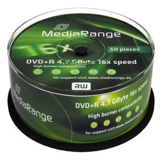 MediaRange Médium DVD+R 4,7 GB 16x 50-cake