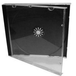 Obal box na cd 1CD jewel černý