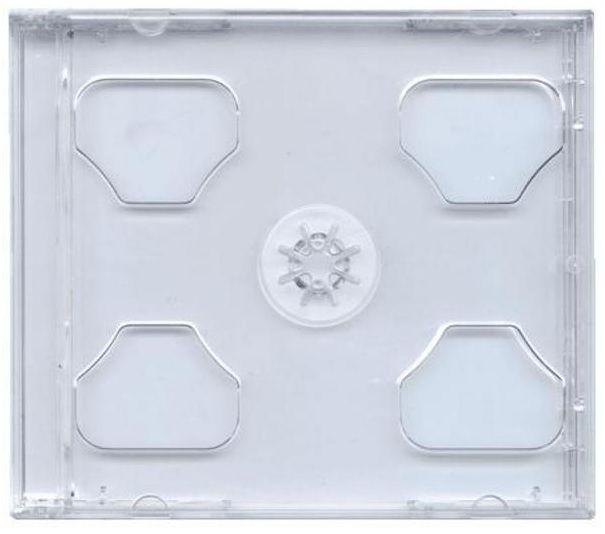Obal box na cd 2CD jewel čirý + RYCHLÉ DODÁNÍ