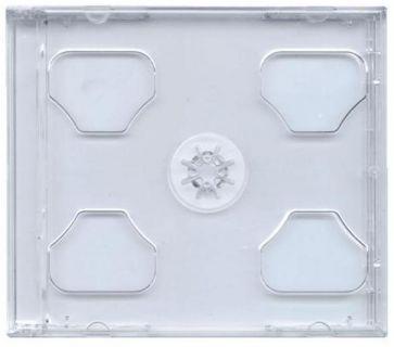 Obal box na cd 2CD jewel čirý