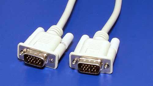 Kabel Roline propojovací VGA MD15HD - MD15HD, 1.8m, stíněný, lisovaný