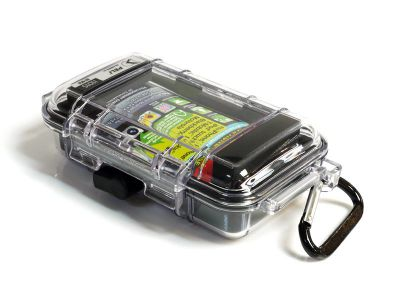 Pouzdro Peli i1015 (iPhone) pro telefony, černé, odolné/vodotěsné