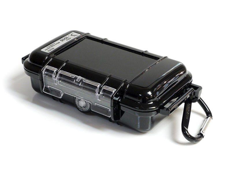 Pouzdro Peli 1015 pro telefony, fotoaparáty, černé, odolné/vodotěsné