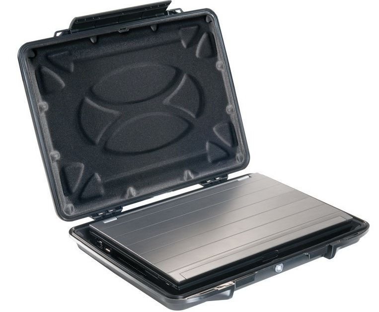 """Kufr Peli 1095CC pro notebooky do 15,6"""" černé, odolné/vodotěsné"""