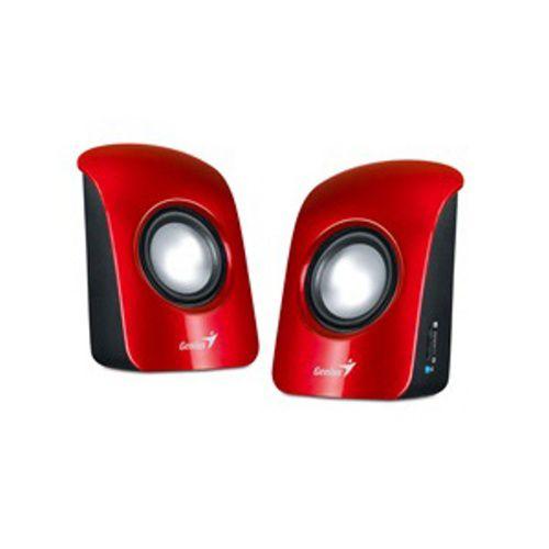 Repro Genius SP-U115 přenosné, USB napájení, červené