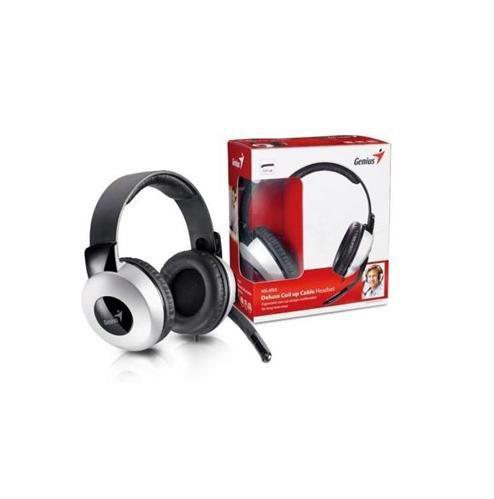 Sluchátka Genius HS-05A (sluchátka + mikrofon),svinovací kabel