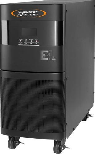 Záložní zdroj Infosec E4 LCD 6000 on-line UPS