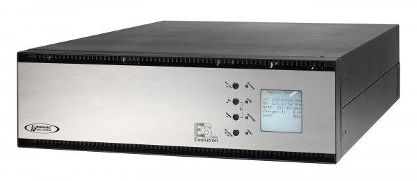 Záložní zdroj Infosec E6 LCD 5000RT Evolution on-line UPS, rack 4U