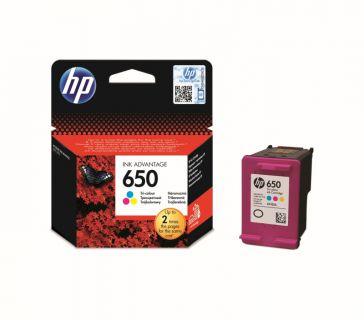 Inkoust HP Ink No 650 barevná, CZ102AE