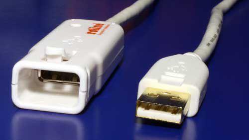 Kabel USB 2.0 aktivní prodlužovací adaptér 12m, bílý