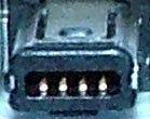 Kabel USB 2x USB A(M)-miniB(M), 5pin, 3m
