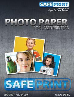 Safeprint Papír foto pro laserové tiskárny A4 lesklý, 200 g/m2, 10ks