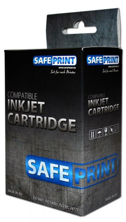 Inkoust Safeprint C9364EE kompatibilní černý  pro HP (17ml-větší obsah)