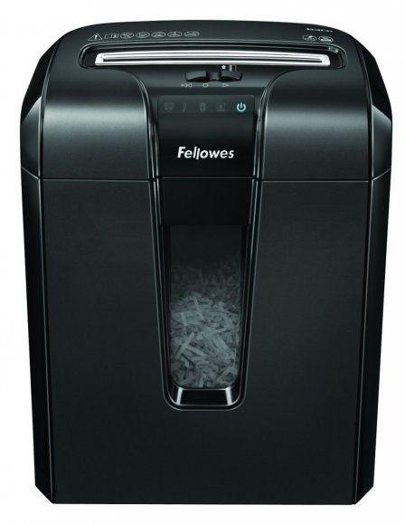 Skartovač Fellowes 63Cb DIN 3, Cross cut 4x50mm, 9 listů, 19l, Credit Card, Energy Savings