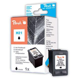Inkoust Peach C9351AE, No.21XL kompatibilní černý PI300-144 pro HP HP Deskjet 3920 (520str