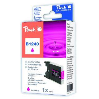 Inkoust Peach LC-1240M kompatibilní purpurový PI500-58 pro Brother MFC-J430W (595str./5%,