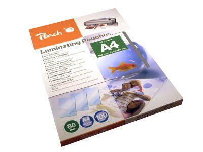 Laminovací fólie Peach PP580-02 lesklé 100ks A4, 80mic