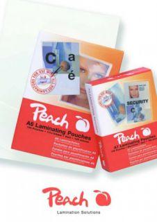 Laminovací fólie Peach PP525-07 lesklé 100ks Credit Card, 54x86mm, 125mic