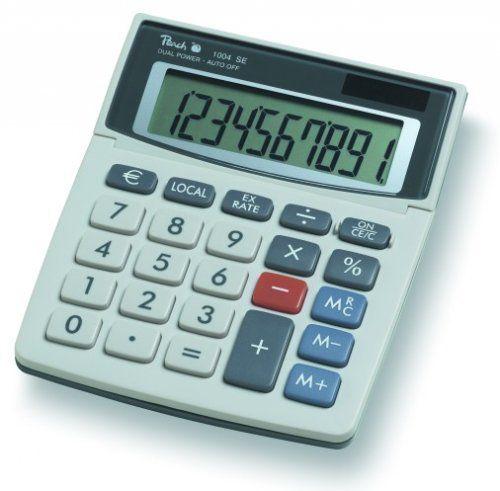 Kalkulátor Peach Desktop Model 1004SE (PR660) výklopný displej, baterie+solární napájení