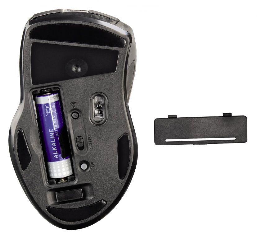 Myš Hama Roma bezdrátová, laserová, 2.4GHz 800/1600dpi, USB, černá