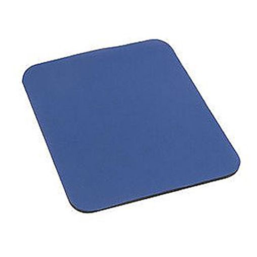 Podložka pod myš látková modrá, 24cm x 22cm, 3mm