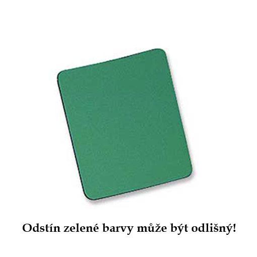 Podložka pod myš látková zelená, 24cm x 22cm, 3mm