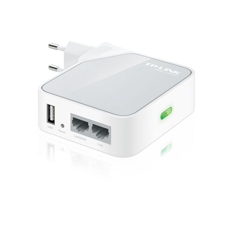 WiFi router TP-Link TL-WR710N Mini poket AP/router, 1x WAN, 1x micro USB (2,4GHz, 802.11n)