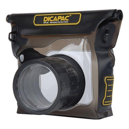 Podvodní pouzdro DiCAPac WP-S3 pro hybridní digitální fotoaparáty (bezzrcadlovky) se zoome