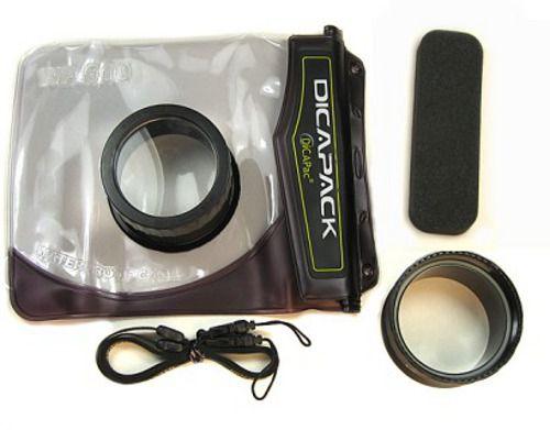 Podvodní pouzdro DiCAPac WP-610 pro digitální fotoaparáty střední velikosti se zoomem