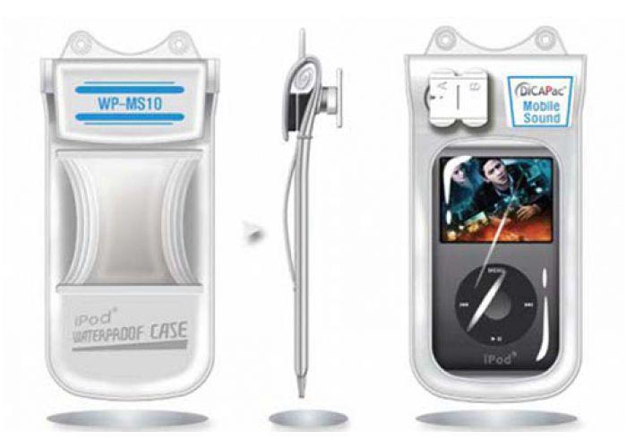 Podvodní pouzdro DiCAPac WP-MS10 pro MP3 přehrávače